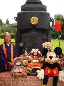 「長福寿寺の人形供養」特長その7-専用の火葬炉を完備