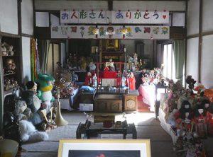 長福寿寺は、人形大歓迎。よく手入れされていて驚きました。